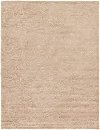 a2z rug cozy shaggy collection 10x13 feet solid area rug taupe