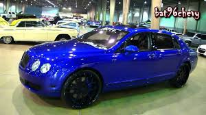 bentley forgiato wet u002714 candy blue bentley flying spur on 24