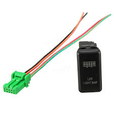 oem replacement led light push switch for toyota land cruiser