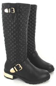womens flat boots uk black patent boots uk shoe models 2017 photo