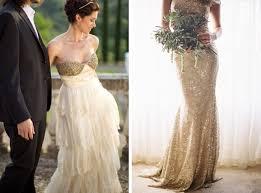 gold dress wedding gold sparkle wedding dresses