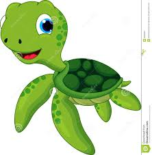 cute turtle cartoon stock image image 36083251
