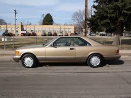 1986 mercedes 560 sec mercedes 560 class 1986 gold coupe 560sec gasoline 8