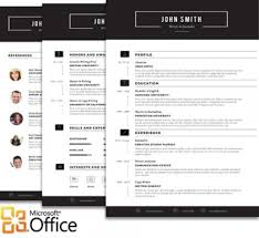 modern resume styles trendy top 10 creative resume templates for word office