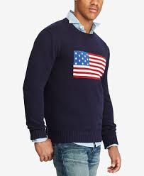 maroon sweater polo ralph s flag cotton sweater sweaters