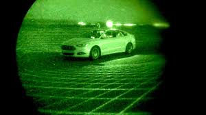 mercedes headlights at night ford u0027s autonomous fusion can see in the dark without headlights
