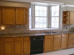 kitchen backsplash ideas with brown cabinets brown granite countertops with backsplash ideas