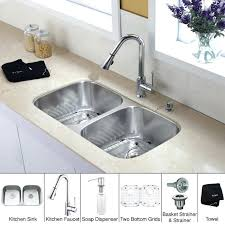 Kitchen Sink And Faucet Combinations Cheap Vessel Sinks Kitchen Sink Faucet All In One Kitchen Sink