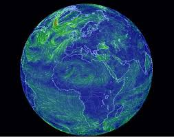 global map earth earth a global map of wind weather and conditions