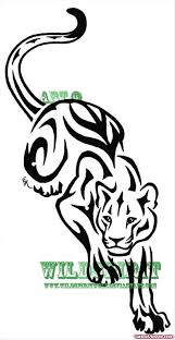 100 panther tribal tattoos 100 tribal outline tattoo 33