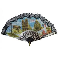 lace fan black lace fan souvenirs parici