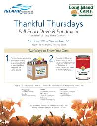 we re partnering with island federal credit union to promote we re partnering with island federal credit union to promote grateful giving on thankful thursdays