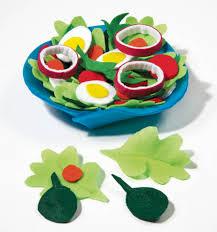 creative play ideas with felt food felt salad create this felt