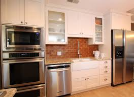 kitchen with brick backsplash tiles backsplash kitchen with brick backsplash the benefits to