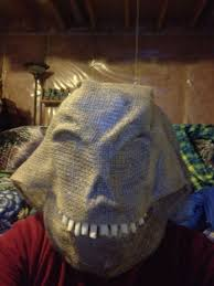Scary Scarecrow Costume How To Make A Scary Scarecrow Mask With Moveable Jaw 7 Steps