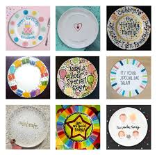 it s your special day plate family traditions make a celebration plate sponsored by color me