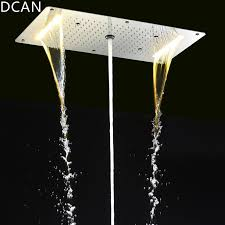Ceiling Mounted Rain Shower by 9 Function Shower Heads Light Big Rain Shower 700x380mm Large