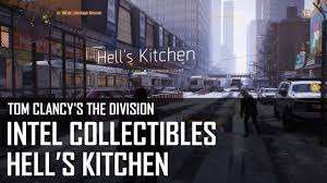 tom clancy u0027s the division hell u0027s kitchen intel collectibles