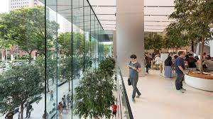 foster partners completes apple orchard road store in singapore