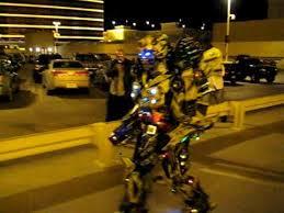 Bumblebee Transformer Halloween Costume Transformers Bumblebee Costume Marches