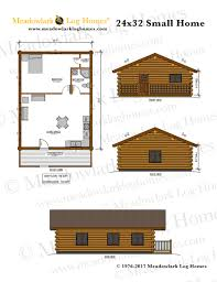24x32 log home meadowlark log homes