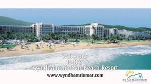 Puerto Rico Beaches Map by Wyndham Rio Mar Puerto Rico Resort And Hotel Video Youtube