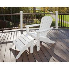 Patio Furniture From Home Depot - trex outdoor furniture cape cod classic white 2 piece patio
