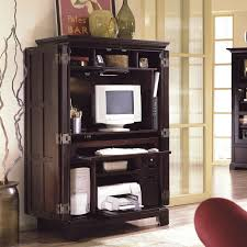 Locking Computer Armoire Home Office Computer Armoire Compact Computer Armoire Desk Small
