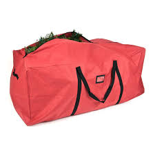 basic tree storage duffel bag for 6 9ft trees no wheels