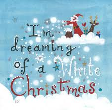 i m dreaming of a card christmas pack of 6 i m dreaming of a white christmas
