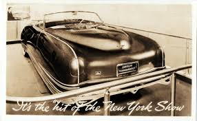 chrysler imperial concept 1941 chrysler thunderbolt concepts