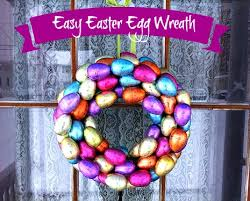 how to make an easter egg wreath tutorial easy easter egg wreath frugal upstate