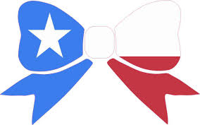 Texaa Flag 8in X 5in Texas Flag Bow Bumper Sticker Decal Window Stickers Car