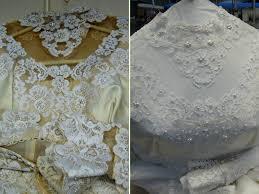 wedding dress restoration the water restoration cleaning service fabric renewal
