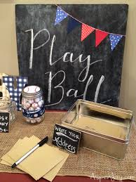 baseball baby shower ideas baseball themed baby shower aspen