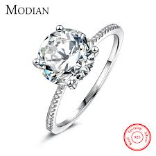 wedding jewelry rings images 2017 classic luxury real solid 925 sterling silver ring 3ct 10 jpg