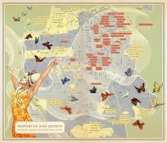 san francisco map painting monarchs and mona caron