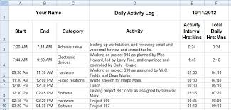 daily activity report template daily report format in excel fourthwall co