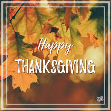 thanksgiving wishes for my and
