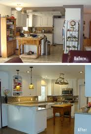 pictures of white kitchen cabinets with granite countertops small kitchen remodel before and after pictures white kitchen