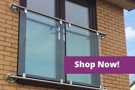Balcony Banister Balustrades U003e Stainless Steel U0026 Glass Handrail Systems Railings
