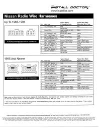 2000 nissan maxima bose stereo wiring diagram wiring diagrams