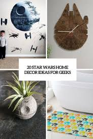 Star Wars Home Decorations by 20 Star Wars Home Décor Ideas For Geeks Shelterness