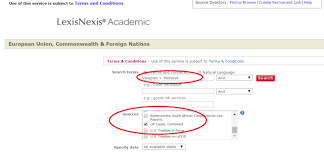 lexisnexis digital library finding british cases with lexisnexis academic and worldlii org