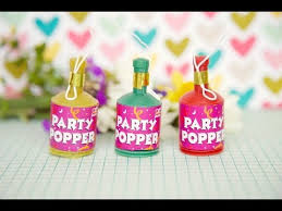 party poppers diy party poppers make at home