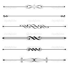 Decorative Line Clip Art Lines Clipart Page Break Pencil And In Color Lines Clipart Page