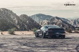 widebody mustang ford mustang gt wide body s550 gets the vertini rf1 1 wheels