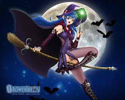 halloween witch background halloween witches anime halloween holidays pinterest