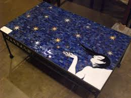 Diy Mosaic Table Diy Mosaic Pallet Coffee Table For The Home Pinterest U2013 Les