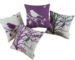 Discount Throw Pillows For Sofa by Decor Luxury Purple Throw Pillows For Smooth Your Bedroom Decor